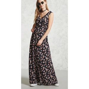 Dresses & Skirts - 🌹 BEAUTIFUL FULL LENGTH FLORAL DRESS 🌹